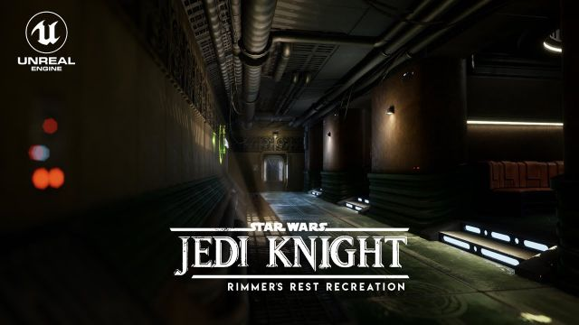 Dark Forces II: Jedi Knight - Rimmer's Rest Recreation (Unreal Engine 4)