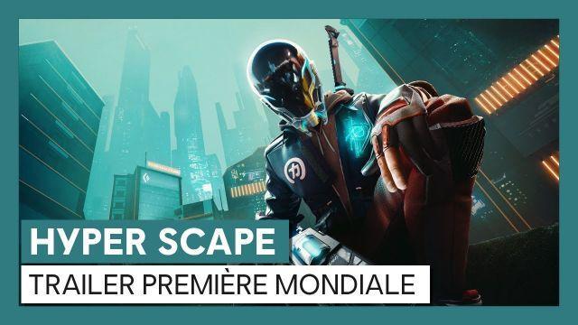 HYPER SCAPE - Trailer Première Mondiale [OFFICIEL] VOSTFR