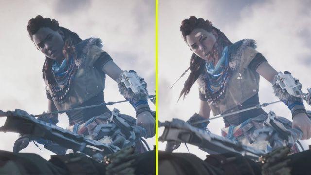 Horizon Zero Dawn PS4 Pro vs PC Early Graphics Comparison
