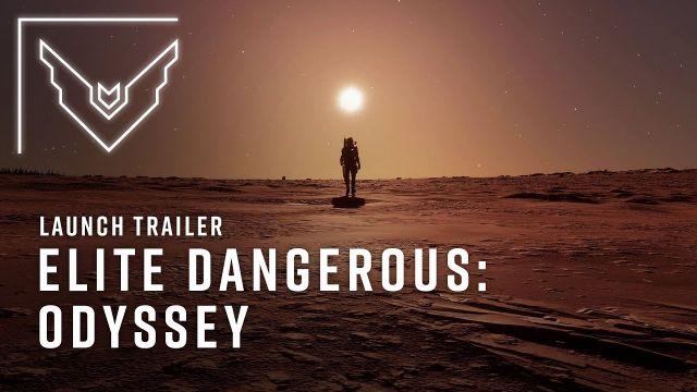 Elite Dangerous: Odyssey | Launch Trailer