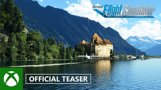 Microsoft Flight Simulator: Germany, Austria, Switzerland World Update Teaser - gamescom 2021