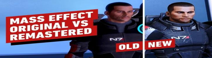 Mass Effect Legendary Edition Changes - Original vs. Remastered Performance Preview