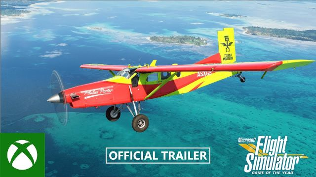 Microsoft Flight Simulator – Announcing the Game of the Year Edition