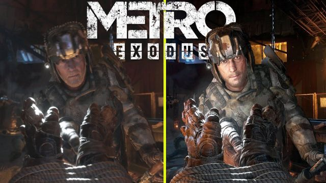 Metro Exodus Enhanced Edition vs Original RTX 3080 Ray Tracing ON 4K Graphics Comparison