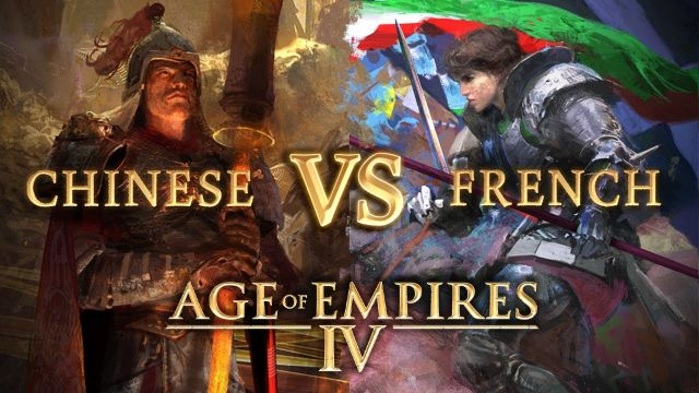 Age of Empires IV: French vs Chinese