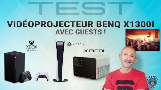 TEST : Vidéoprojecteur BenQ X1300i (avec Guests !)