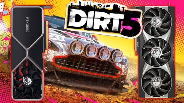 DiRT 5 Official Ray Tracing Benchmarked | RX 6000 Series And RTX 30 Series Tested