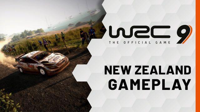 WRC 9 | New Zealand Gameplay