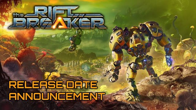 The Riftbreaker - Release Date Announcement