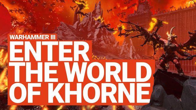 Enter the World of Khorne   Total War: WARHAMMER 3