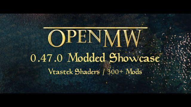 Morrowind Remastered 2021: OpenMW 0.47.0 Graphics Overhaul, Distant Land, Shadows, Parallax, Shaders