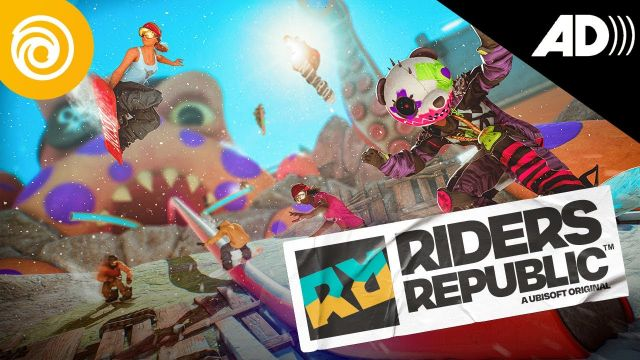 Riders Republic - Deep Dive Trailer #AudioDescription