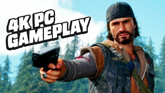 28 Minutes of Days Gone PC Gameplay (4K)