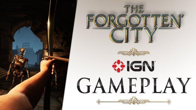 The Forgotten City - 8 minutes of gameplay - IGN Summer of Gaming