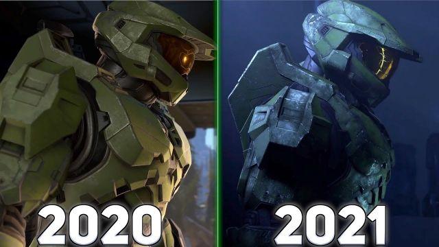 Halo Infinite Graphics Comparison 2020 - 2021 (4K)