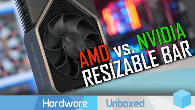Nvidia Resizable BAR Tested, As Good as AMD SAM?