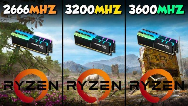 3600MHz vs 3200MHz vs 2666MHz: Best RAM for Ryzen 3000?