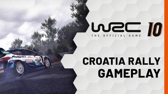 WRC 10 | Gameplay Rallye de Croatie