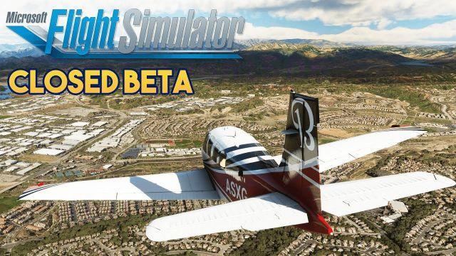 Microsoft Flight Simulator 2020 - CLOSED BETA