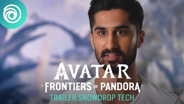 Avatar: Frontiers of Pandora - Trailer Snowdrop Tech [OFFICIEL] VOSTFR