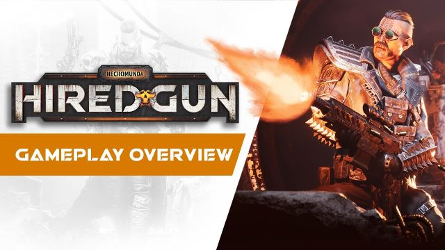 Necromunda: Hired Gun - Gameplay Overview Trailer