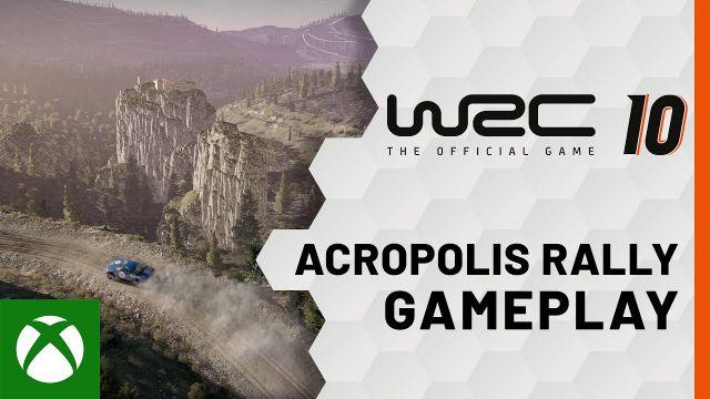 WRC 10 - Acropolis Rally Greece Gameplay