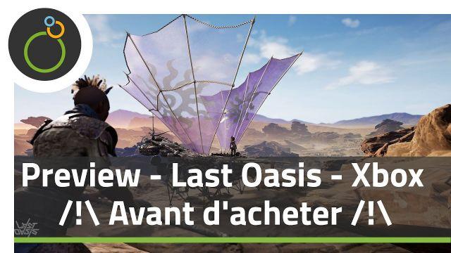 Preview  - Last Oasis - Tout savoir sur le MMO de survie Xbox