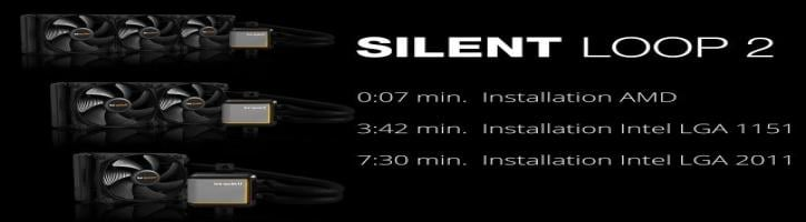 Installation: Silent Loop 2 (AMD & Intel) | be quiet!