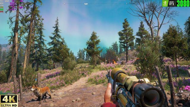 Far Cry New Dawn 4K ultra _Benchmark_RTX 3080