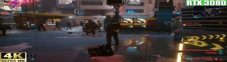 Cyberpunk 2077  4K RTX 3080 Ray Tracing Ultra _Benchmark