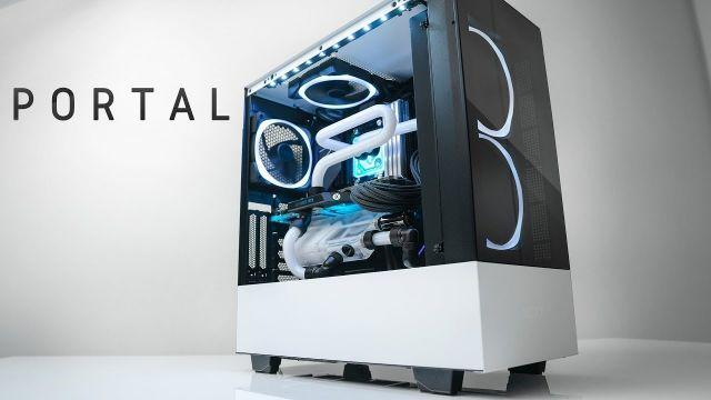 PORTAL - The 3900X / 2080 Ti Liquid Build!
