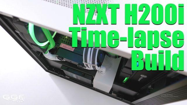 Small and Sexy - NZXT H200i, 1080Ti Time-lapse Build