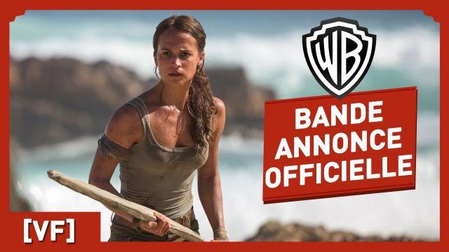 Tomb Raider - Bande Annonce Officielle (VF) - Alicia Vikander