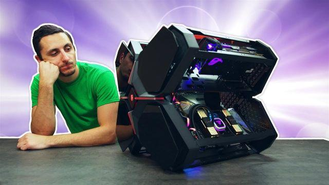 Building a $4700 PC Inside the DeepCool Quadstellar Case!