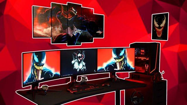 $5000 Ultimate VENOM Gaming Setup - Montage