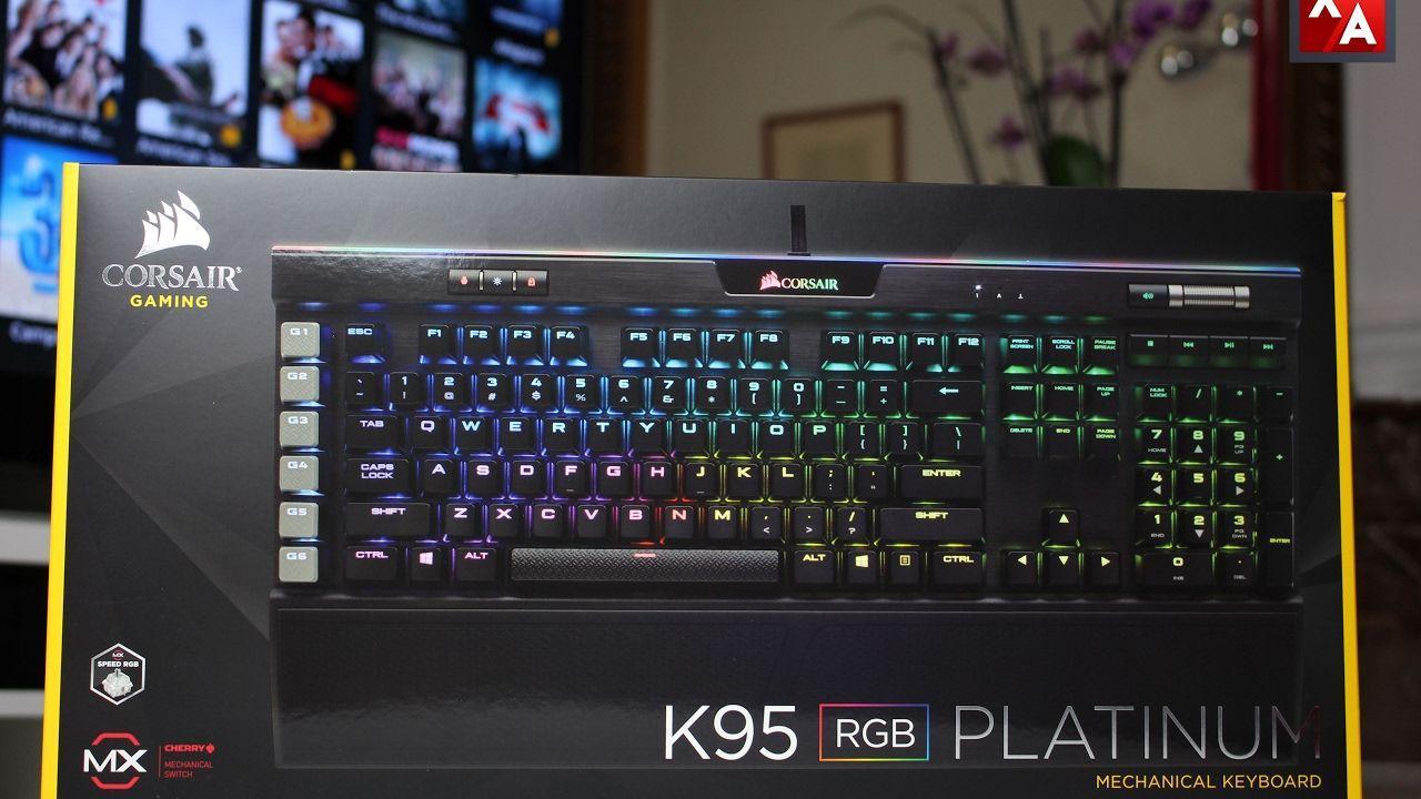 Corsair K95 RGB Platinum - Présentation / Avis