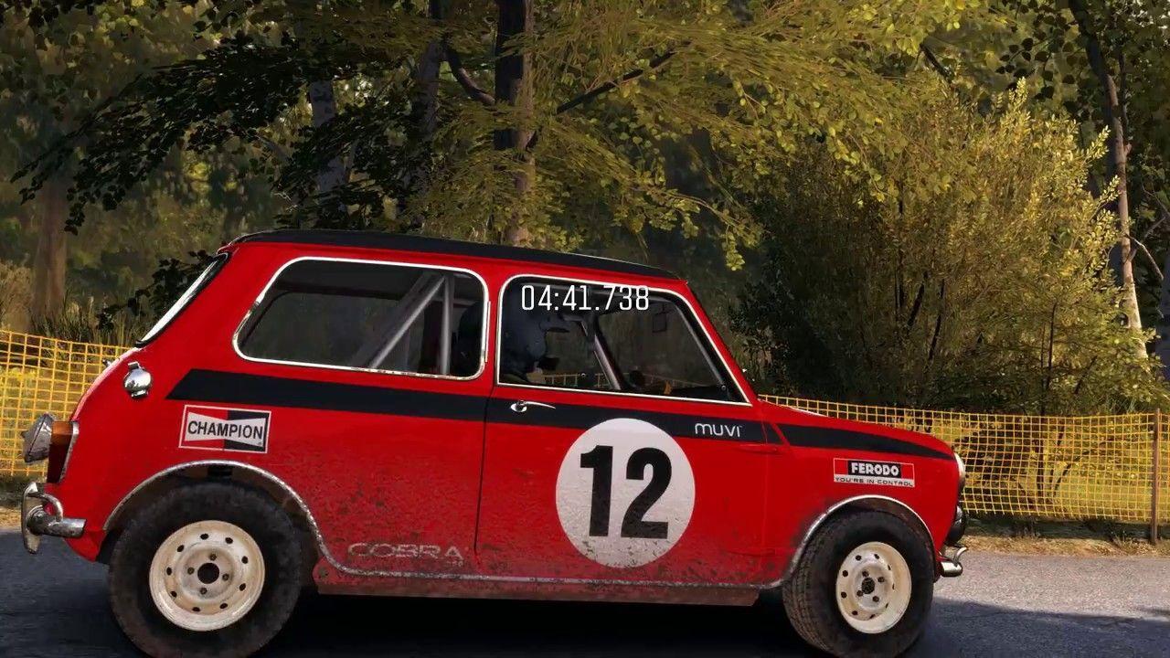Dirt Rally spéciale rallye d'Allemagne moris mini cooper s