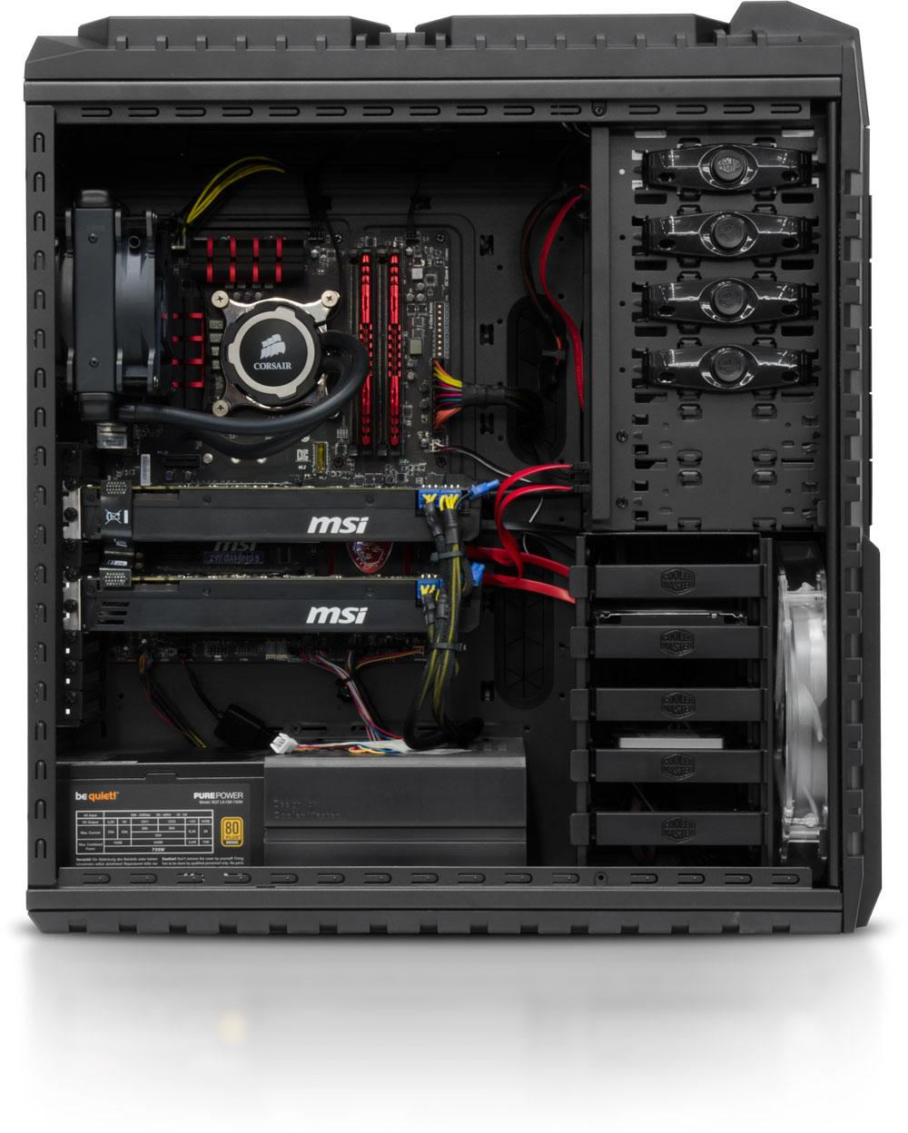 avis sur le pc gamer hornet mk2 de config. Black Bedroom Furniture Sets. Home Design Ideas