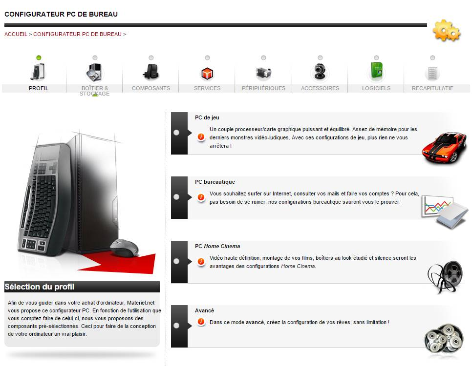 Materiel.net : Notre avis sur le site marchand - Config