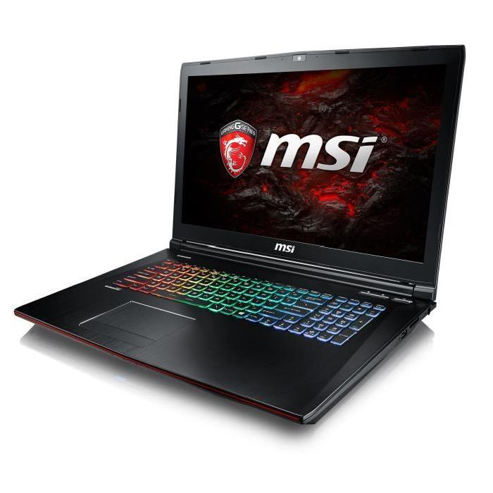 solde msi portable gamer ge72mvr 7rg 1499 au lieu de 1799 config. Black Bedroom Furniture Sets. Home Design Ideas