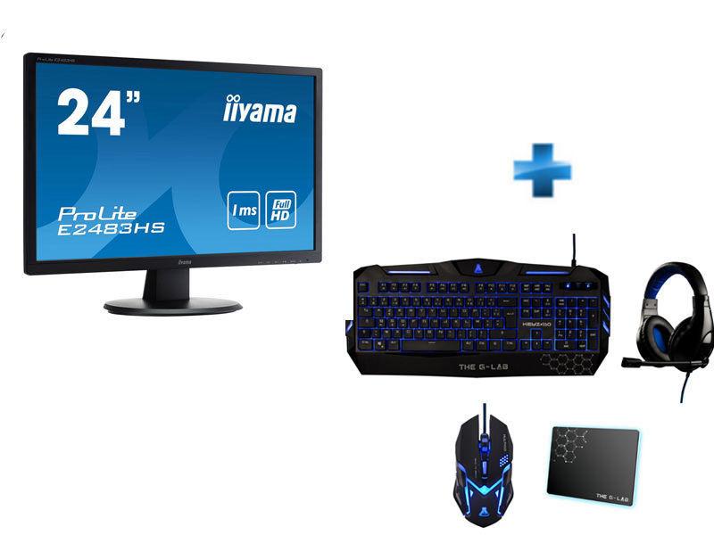 Solde informatique 129 pour ecran 24p clavier for Ecran ordinateur solde