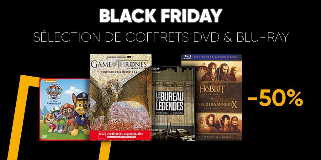 Fnac black weekend 50 de r duction sur une s lection de - Est ce qu un lecteur blu ray lit les dvd ...