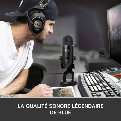 Bon plan : 40% sur le Microphone​ Blue Yeti Blackout Edition + Ghost Recon Wildlands
