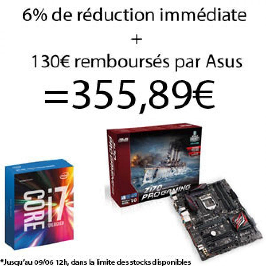 top achat i7 6700k asus z170 pro gaming config. Black Bedroom Furniture Sets. Home Design Ideas