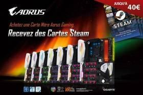 Offre STEAM / AORUS Gaming