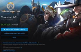 Blizzard solde la version PC d'Overwatch à 29,99 €