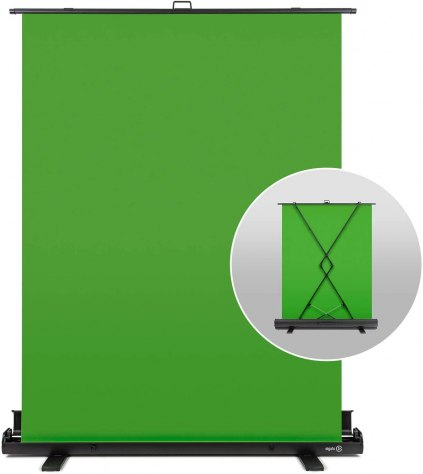 elgato green screen retractable