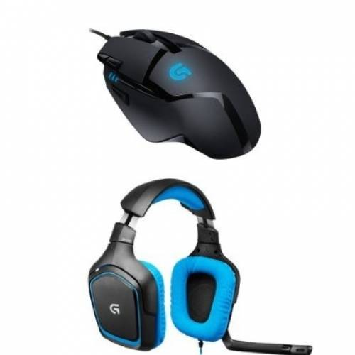 Promo Amazon : Souris Gaming G402 Hyperion Fury + Micro-casque Gaming G430