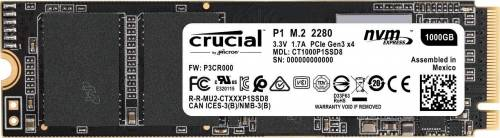 Black Friday Amazon : SSD Crucial P1 de 1 To à 189,99 €  (3D NAND, NVMe, PCIe, M.2)