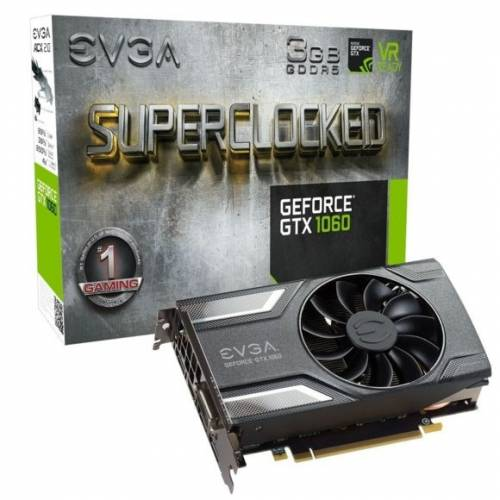 SOLDE : 149,90€ la carte graphique EVGA GTX 1060 3GB SC GAMING